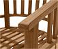 Teaková zahradní židle