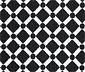 Siyah Beyaz Volan Kollu Bluz
