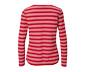 Kırmızı-Beyaz Çizgili Bluz