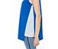 Mavi Nakış Detaylı Kolsuz Tunik