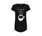 Siyah Coffee & Lipstick Kadın Tişört