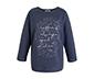 Lacivert Sloganlı Pijama Takımı