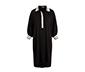 Siyah Yakalı Elbise