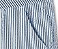 Női 7/8-os nadrág, kék/fehér, csíkos