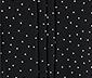 Damska bluzka z nadrukiem w kropki i okrągłym dekoltem