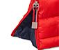 Prešívaná bunda, červená