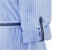 Női csíkos ingruha, világoskék