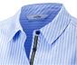 Prúžkované košeľové šaty