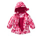 Lányka téli kétrészes overál, rózsaszín