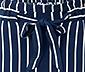 Spodnie kuloty z marszczonym pasem i wiązanym paskiem