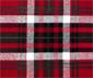 Koltuk Örtüsü ve Battaniye, Kırmızı-Siyah-Yeşil-Beyaz Kareli
