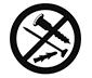 tesa Powerstrips Askı Küçük Yuvarlak Kendinden Yapışkanlı, Çıkarılabilir, Mat Krom