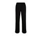 Siyah Düğmeli Bol Pantolon
