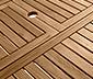 Rozkládací teakový zahradní stůl, cca 150 x 200 cm