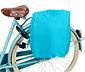 Kırçıllı Gri Mavi Bisiklet Ve Omuz Çantası