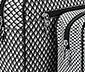 Piperetartó szett, 2 db, szürke mintás