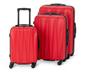 Twarda walizka ok. 55 l, czerwona