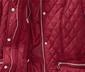 Krátký kabát s kosočtvercovým prošíváním