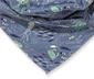 Trójkątne chustki, 3 sztuki, niebieskie