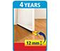 tesamoll® Standart Kapı Altı Hava Akımı Önleyici Fırça, 1m:37mm, Beyaz
