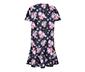 Kısa Kollu Çiçekli Elbise