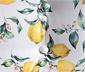 Max Winzer® Cocktailsessel »Fiona« mit Zitronenprint