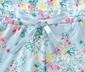 Női egyrészes pizsama, virágos