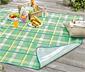 Renkli Kareli XL Piknik Örtüsü