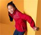 Lány softshell dzseki