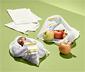 Woreczki na warzywa i owoce, 4 sztuki