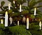 LED svíčky na vánoční stromeček, 25 ks