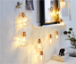 LED-Glühbirnen-Lichterkette
