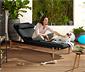 Relaxačné ležadlo vrátane podušky