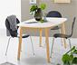 Table à manger extensible, env. 160/205 x 90 cm