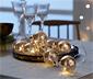 Guirlande lumineuse à LED avec des boules