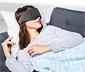 Alvómaszk bluetooth fejhallgatóval