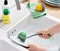 2-in-1-Spülbürste mit auswechselbarem Bürstenkopf