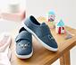 Mavi Kedili Ev Ayakkabısı