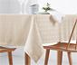 Jaquard asztalterítő, 10 személyes, fehér