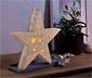 Étoile en bois à LED