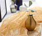 Dekorační látka z organzy s pajetkovou výšivkou