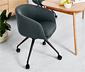 Obrotowe krzesło na kółkach