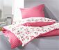Kétoldalas jersey ágynemű, mintás, egyszemélyes