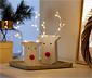 Dekorační předměty s LED, 2 ks