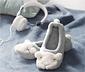 1 paire de chaussons ballerines