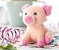 Petit cochon porte-bonheur qui grogne