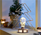 LED-Metallaufsteller, Tanne