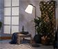 Zewnętrzna lampa stojąca LED wysoka