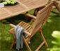 Ayarlanabilir Yüksek Sırtlı Tik Sandalye