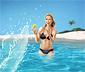 Podskakująca mini-piłka wodna